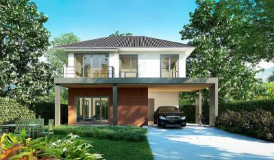 บ้านเดี่ยว 3880000 ชลบุรี บ้านบึง หนองซ้ำซาก